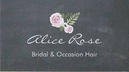 Alice Rose Bridal & Occasion Hair logo