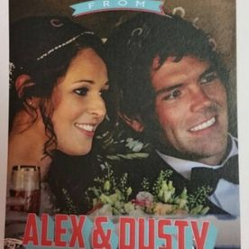 Alex & Dusty wed in the U.S.A.